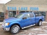2014 Blue Flame Ford F150 XLT SuperCab 4x4 #90561725