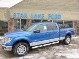 2014 Blue Flame Ford F150 XLT SuperCrew 4x4 #90561724