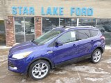 2014 Deep Impact Blue Ford Escape Titanium 2.0L EcoBoost 4WD #90561722