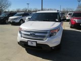 2014 White Platinum Ford Explorer XLT #90561361