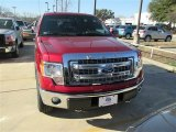 2014 Ruby Red Ford F150 Lariat SuperCrew 4x4 #90561355