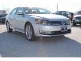 2014 Reflex Silver Metallic Volkswagen Passat 1.8T SEL Premium #90594696