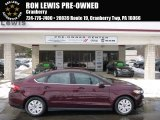 2013 Bordeaux Reserve Red Metallic Ford Fusion S #90594498