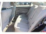 2006 Nissan Altima 2.5 S Special Edition Rear Seat