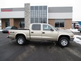 2004 Light Almond Pearl Metallic Dodge Dakota SLT Quad Cab 4x4 #90594709
