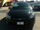 2012 Tuxedo Black Metallic Ford Focus Titanium 5-Door #90621770
