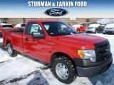 2014 Vermillion Red Ford F150 XL Regular Cab #90621818