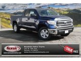 2014 Blue Ribbon Metallic Toyota Tundra SR5 Double Cab 4x4 #90621722