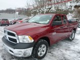 2014 Deep Cherry Red Crystal Pearl Ram 1500 Tradesman Quad Cab 4x4 #90621925