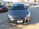 2014 Sterling Gray Ford Focus SE Sedan #90638701