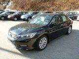 2014 Crystal Black Pearl Honda Accord EX Coupe #90638723