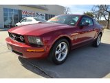 2007 Redfire Metallic Ford Mustang V6 Premium Coupe #90638785