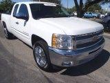 2013 Summit White Chevrolet Silverado 1500 LT Extended Cab #90645480