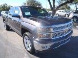 2014 Tungsten Metallic Chevrolet Silverado 1500 LTZ Crew Cab #90645477