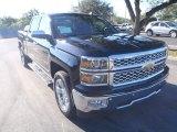 2014 Black Chevrolet Silverado 1500 LTZ Crew Cab #90645476
