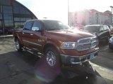 2013 Copperhead Pearl Ram 1500 Laramie Crew Cab 4x4 #90645341
