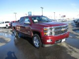 2014 Deep Ruby Metallic Chevrolet Silverado 1500 High Country Crew Cab 4x4 #90645340