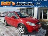 2007 Bright Red Suzuki SX4 AWD #90645433