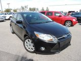 2012 Tuxedo Black Metallic Ford Focus SE 5-Door #90645283