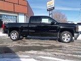 2014 Black Chevrolet Silverado 1500 LT Z71 Double Cab 4x4 #90645196