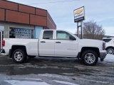 2014 Summit White Chevrolet Silverado 1500 LT Double Cab 4x4 #90645193