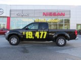 2013 Super Black Nissan Frontier S King Cab #90645274