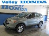 2011 Opal Sage Metallic Honda CR-V LX 4WD #90645184