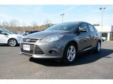2014 Sterling Gray Ford Focus SE Sedan #90645355