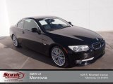 2011 Jet Black BMW 3 Series 335i Convertible #90667763