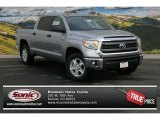 2014 Silver Sky Metallic Toyota Tundra SR5 Crewmax 4x4 #90667658
