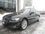 2008 Jet Black BMW 3 Series 335xi Coupe #90677951