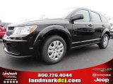 2014 Pitch Black Dodge Journey Amercian Value Package #90677668