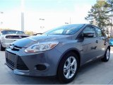 2014 Sterling Gray Ford Focus SE Hatchback #90677538