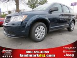 2014 Fathom Blue Pearl Dodge Journey Amercian Value Package #90677661