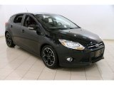 2012 Tuxedo Black Metallic Ford Focus SE Sport 5-Door #90678077