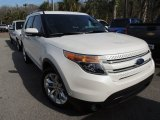 2013 White Platinum Tri-Coat Ford Explorer Limited EcoBoost #90677942
