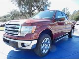 2014 Sunset Ford F150 Lariat SuperCab 4x4 #90677530