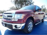 2013 Ruby Red Metallic Ford F150 STX SuperCab #90677523