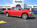2014 Flame Red Ram 1500 Big Horn Crew Cab #90677800