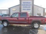2005 Sport Red Metallic Chevrolet Silverado 1500 LT Crew Cab 4x4 #90678332