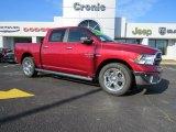 2014 Deep Cherry Red Crystal Pearl Ram 1500 Big Horn Crew Cab #90677791