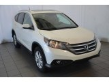 2014 White Diamond Pearl Honda CR-V EX-L #90677393