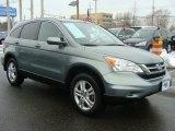 2011 Opal Sage Metallic Honda CR-V EX-L 4WD #90678323