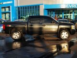 2009 Black Chevrolet Silverado 1500 LT Crew Cab 4x4 #90677496