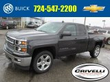 2014 Tungsten Metallic Chevrolet Silverado 1500 LT Double Cab 4x4 #90678023
