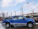 2014 Blue Flame Ford F150 XLT SuperCrew 4x4 #90677563
