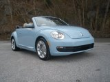 2013 Denim Blue Volkswagen Beetle 2.5L Convertible #90678157