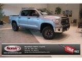 2014 Silver Sky Metallic Toyota Tundra SR5 Crewmax 4x4 #90677330