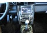 2007 Porsche 911 Carrera Cabriolet Controls