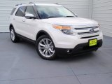 2014 White Platinum Ford Explorer Limited #90677848